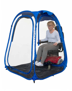 XLDeluxePod™ - Under the Weather® - Personal pop-up sports tent for mom, dad, kids, parents - Perfect for soccer, baseball, softball, football, youth team sports - As Seen on Shark Tank