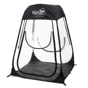 XLPod™ 360° - Under the Weather® - Personal pop-up sports tent for mom, dad, kids, parents - Perfect for soccer, baseball, softball, football, youth team sports - As Seen on Shark Tank