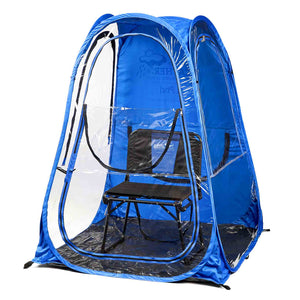 XLPod™ Pop-Up Backpacking Tent - Under the Weather® - Personal pop-up sports tent for mom, dad, kids, parents - Perfect for soccer, baseball, softball, football, youth team sports - As Seen on Shark Tank