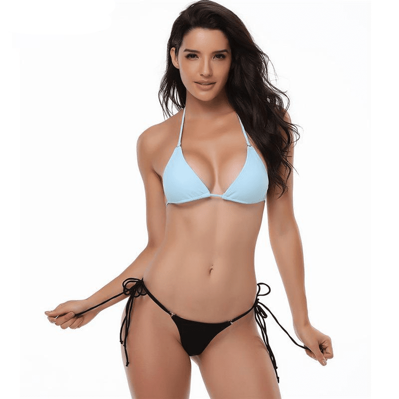 Bikini Swimwear Women Swimsuit Sexy Push Up Bikini Set Bandage Swimwear Female Bathing Suits Beachwear Bikinis-SheSimplyShops
