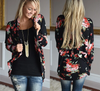 Spring Sweaters Women Floral Long Cardigans Casual Top Femme Thin Cardigan Women Crochet Maglioni Donna Se12