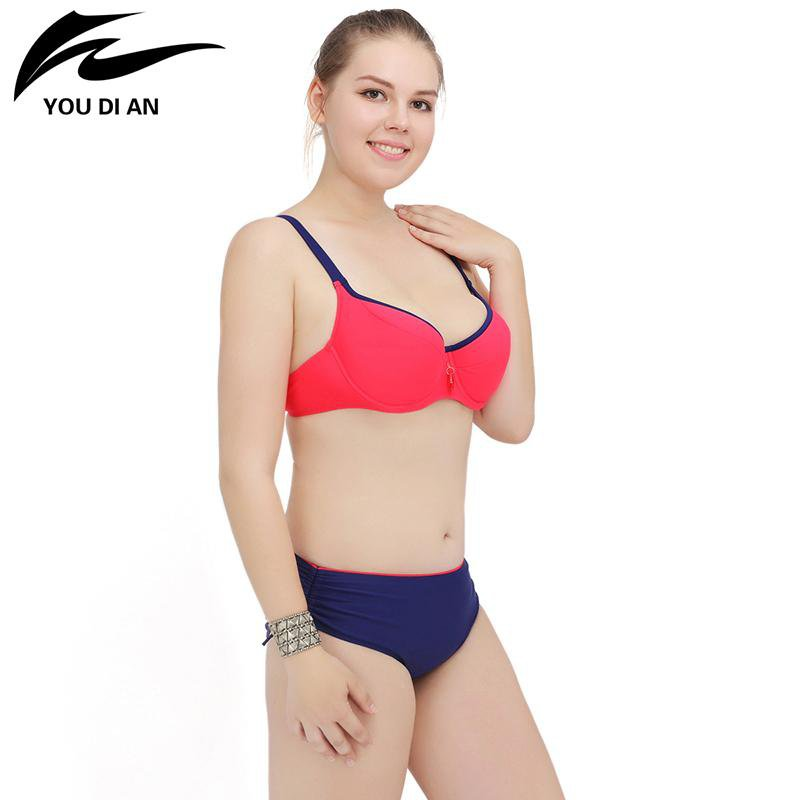 Women Bikini Swimsuit Push up Bikinis Bathing Suit Halter Swimwear Beach Suit-SWIMWEAR-SheSimplyShops