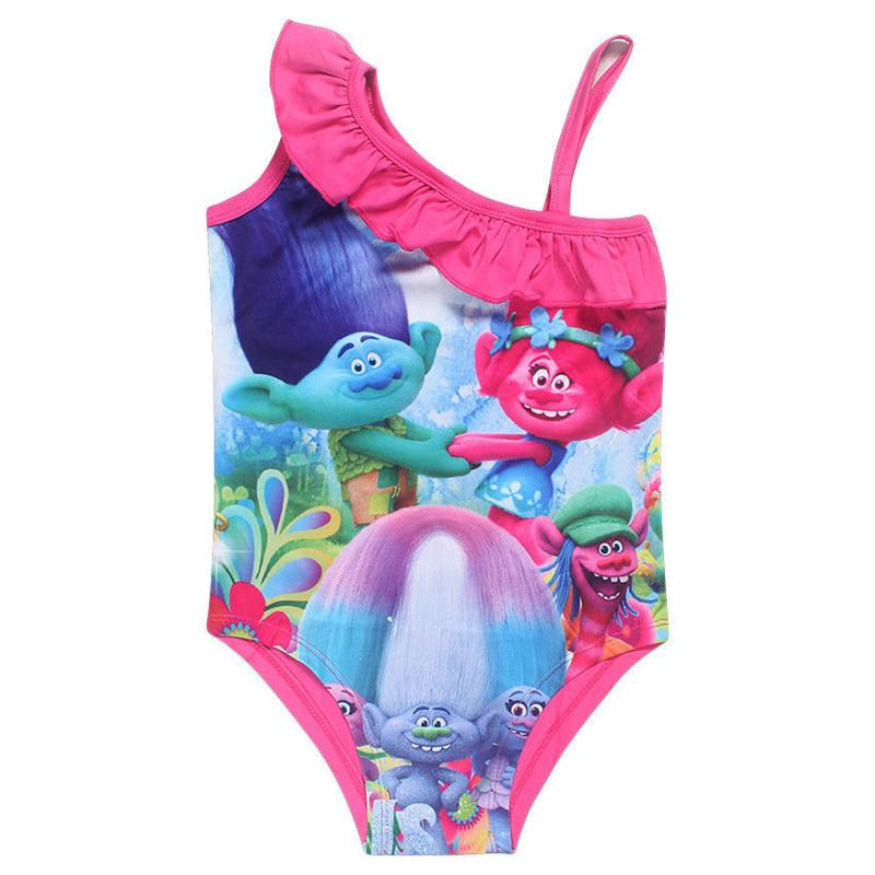 Girls Swimwear Mermaid Princess One Pieces Swimsuit Kids Swimming Suit For Girl Children Bathing Suit-SWIMWEAR-SheSimplyShops