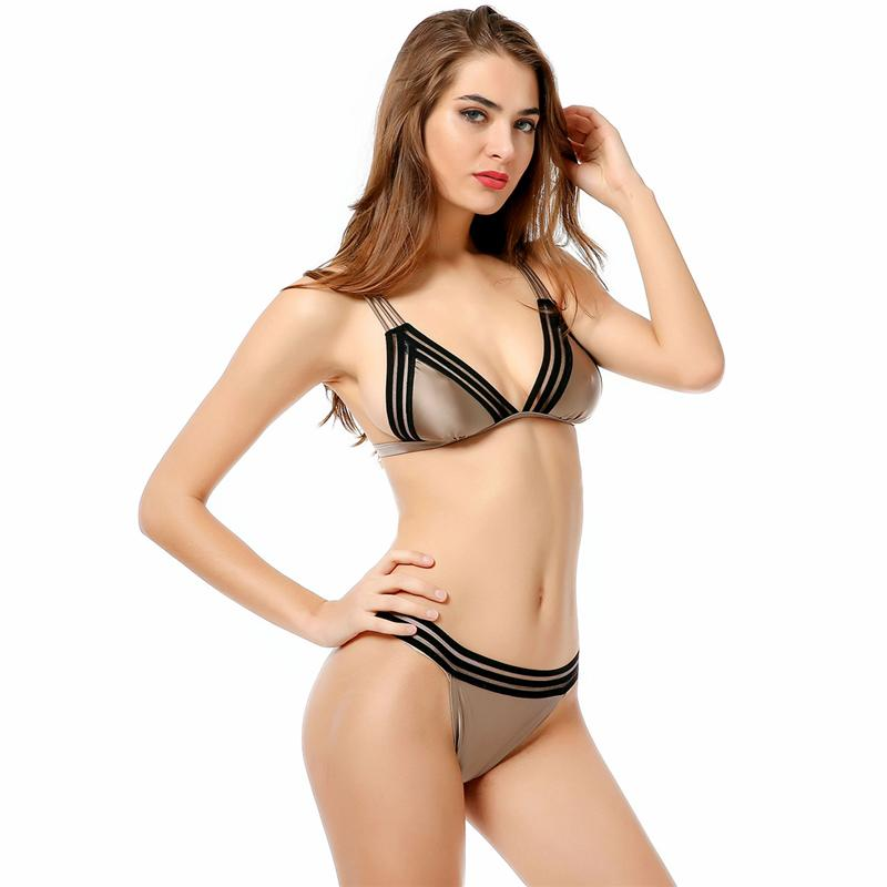Push Up Swimsuit Low Waist Swimwear Women Bandage Bikini Beach Bathing Suits-SWIMWEAR-SheSimplyShops