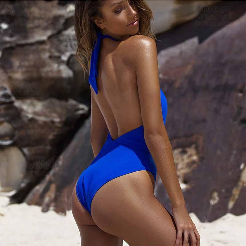 Women swimwear hollow beachwear women bathing suit push up bikinis-SWIMWEAR-SheSimplyShops