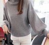 Weinsky Women Knitted Sweaters And Pullovers Ladies Autumn And Winter Korean Casual Style Pink And Black Sweaters