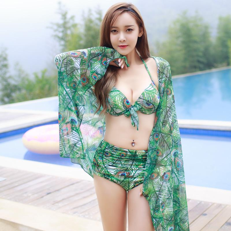 Women Bikini Set Swimwear Bandage Flower Printed Push-Up Padded Swimsuit Bathing Beachwear Bikinis-SWIMWEAR-SheSimplyShops