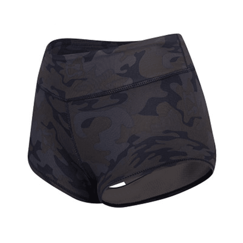 Sporting Camouflage Sexy Yoga Shorts Women High Waist Fitness Running Gym Skinny Quick Dry Short Pant Workout Bottom-SheSimplyShops
