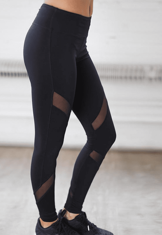 Yoga Sports Pants Fitness Leggings Women Sports Tight Mesh Patchwork Quick-drying Running Compression Pants-SheSimplyShops