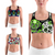 LI FI Skull Print Sports Bra High Stretch Breathable Top Fitness Women Padded for Running Yoga Gym Seamless Crop Bra Sport Bra