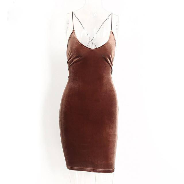 Lace up velvet vintage women dress Backless short party sexy dress retro midi dress Pencil skater body con dress evening