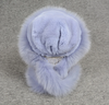 Women's Real Rex Rabbit & Fox Fur Hats Winter Warm Fur Caps Scarf