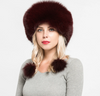 Jancoco Max 2019 Real Fox Fur Bomber Hats Winter Women Warm High Quality Fashion Caps New Arrival S7148