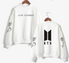 Love Yourself k pop Women Hoodies Sweatshirts Hoodies outwear Hip-Hop boys minim Clothes