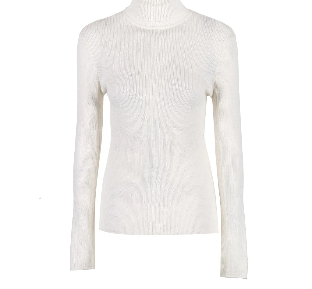 Vero Moda Fall 100% Wool Slim Fit Knitted Base turtleneck Knitted Sweater women | 318324522