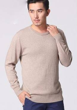 Men's round neck Cashmere Sweater thin sweater winter business Men Slim Sweater Men Sweater hedging color
