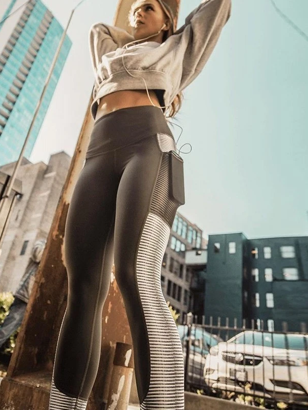 Sports Wear Yoga Pants Women High Waist Pocket Yoga Sport Leggings Fitness Women Tights Running Pants Jogging Gym Sport Clothing
