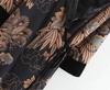 XZ65 1459 European and American fashion wind velvet kimono kimono