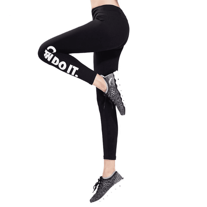 Fitness Leggings Women Letter Printed Slim Fitness Yoga Pants Skinny Sporting Gym Exercise Workout Sweatpants Sexy-SheSimplyShops