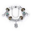 Love Charms Jewelry With Murano Glass Beads Fit Charms Bracelet