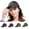 GOPLUS 2019 Fashion Snapback Plaid Glitter Sequins Baseball Cap Women Summer Mesh Patchwork Hats Girl Hip Hop Trucker Hat Female