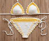 Sexy Handmade Crochet Bikini women crochet Swimsuit Bikini Women Swimwear Bathing Suit beach suit-SWIMWEAR-SheSimplyShops