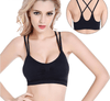 Fitness Women Sports Bra High Elasticity Yoga Sports Top Sexy Cross bra Breathable Female Sportswear Push Up Running Bra-ACTIVEWEAR-SheSimplyShops