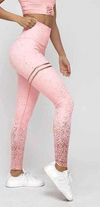 Leggins Sport Women Fitness Tights Pink Printed Yoga Pants Slim Sports Wear For Women Gym Athletic Leggings Workout Clothes