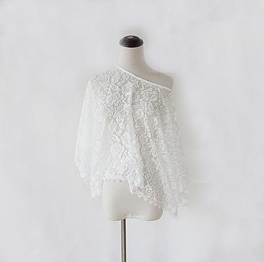 Beach Dresses Lace White Cover-ups Frill Dress Embroidered Women Strap Dress Sexy Charming Designer secret-Dress-SheSimplyShops