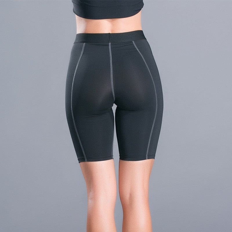 Breathable Sport Shorts Women Fitness High Waist Gym Yoga Running Shorts Plus Size Jogging Workout Short Leggings Sport Clothing