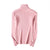 GOPLUS 2019 Autumn Winter Turtleneck Women's Knitted Sweater Pink Long Sleeve Women's Sweaters Korean style Pullovers Clothing