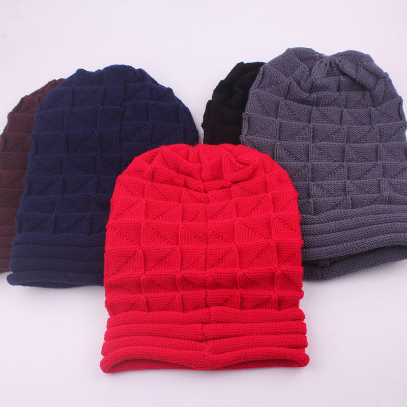 GOPLUS Spring Winter Knitted Hat Women Cotton soft Warm Caps Ladies solid Casual Unisex Skullies beanies Female