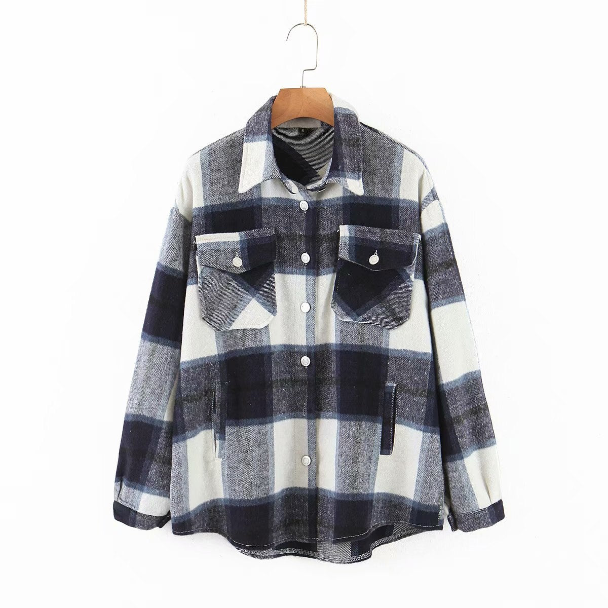 toppies vintage lattice shirt jackets womens loose single breasted coat spring plus size jackets