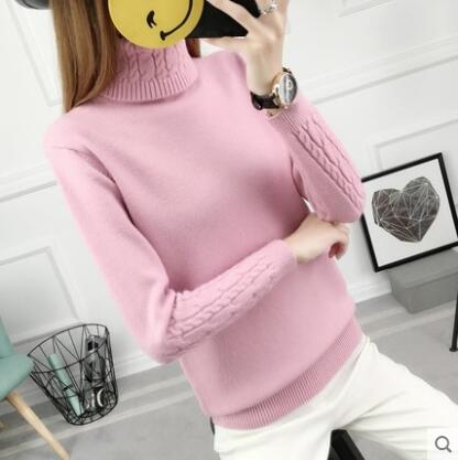 Spring Autumn Winter women's fashion casual warm nice Sweater female ladies sexy basic sweater