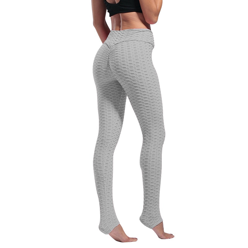 Women Leggings Anti Cellulite Pants High Waist Pull Up Sports Trousers Elastic Butt Lift Pant for Workout Fitness Legging