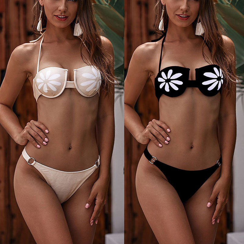 Sexy backless micro Thong Bikini Set 2019 women's swimsuits Bandage Push Up Bikinis mini Swimwear Triangle Bathing Suit Biquini