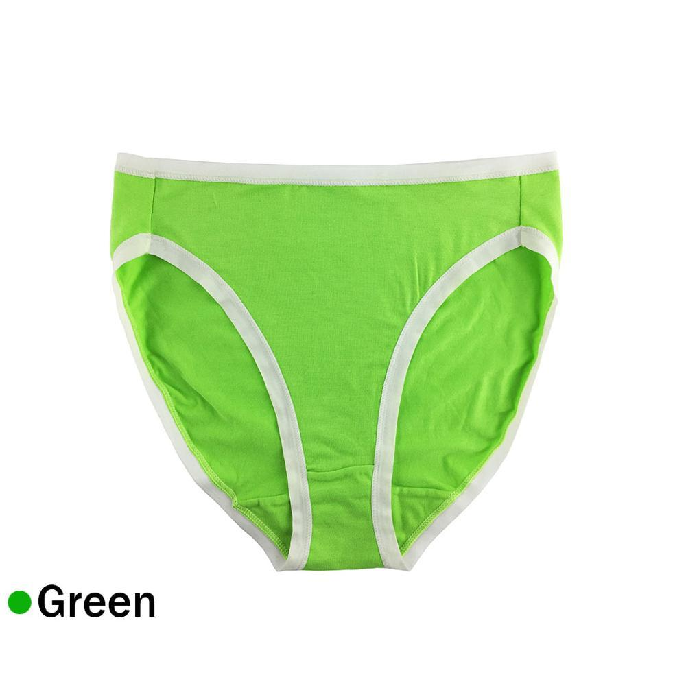 Stretchy Cotton High-Cut Women Briefs Plus Size Underwear Panties Lady Hipster High Waist Cotton Underpants Breathable 4XL