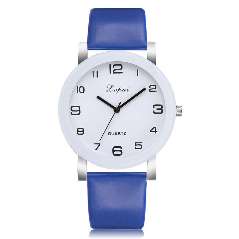 New fashion Simple watch women watches quartz clock leather Watch for women Birthday gift Relogio Feminino Relojes Mujer  #D