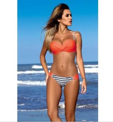 Dot Swimsuit Stripped Bikini Set Push Up for Women Bathing Suit Swimwear-SWIMWEAR-SheSimplyShops