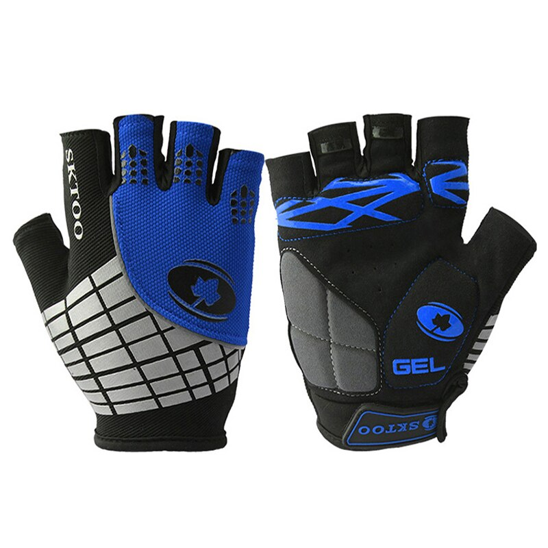 Cycling Gloves GEL Anti Slip Racing Sport Road Mountain MTB Half Finger Bike Bicycle Glove Breathable Ciclismo Luvas