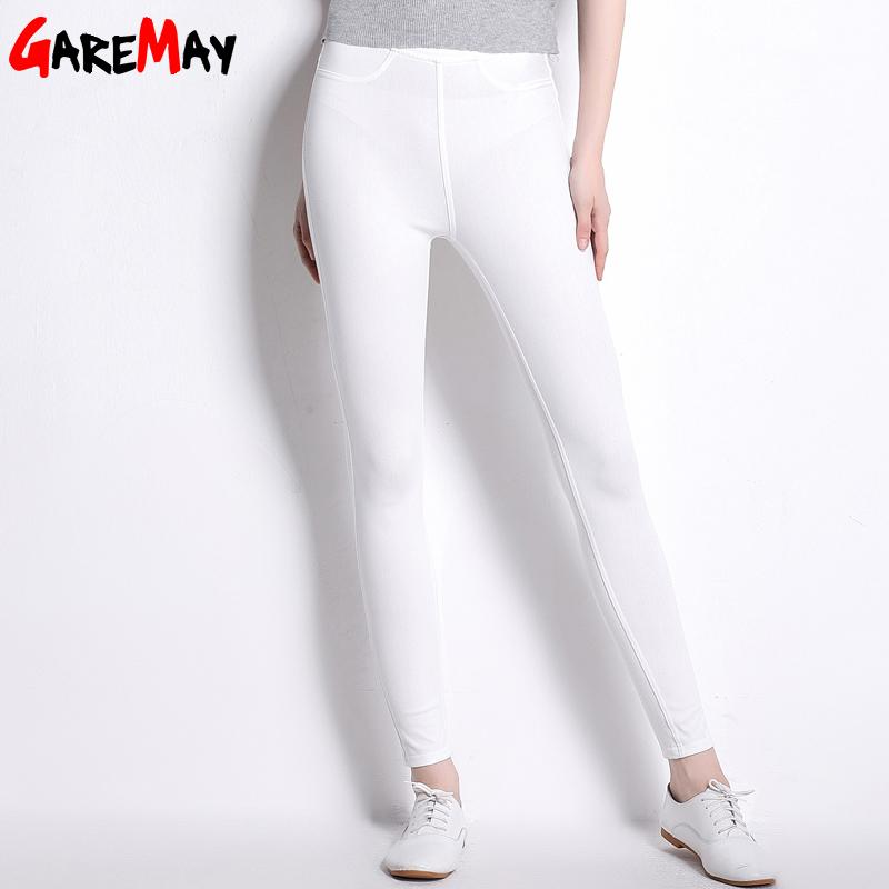 Casual Pants Tall Women Thin Bottoms Stretch Pantaloon Clothing High Waist Pants For Women Trousers Full Long Pant-PANTS-SheSimplyShops