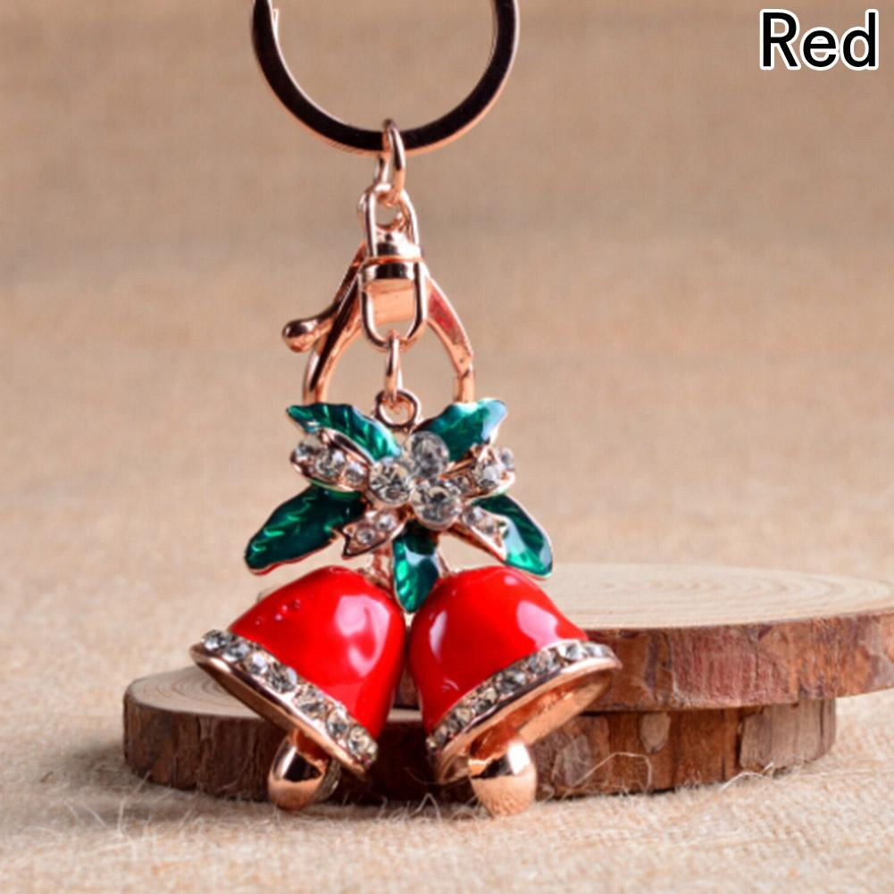 Accessories Christmas Bells Key Chain In Key Chains As Jewelry For Car Bags Luxurious Lobster Clasp Key Ring Trinket Gift-JEWELRY-SheSimplyShops