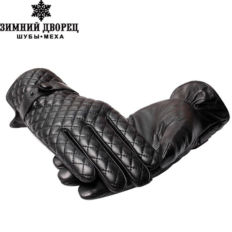 Genuine Leather,leather gloves men,male leather gloves,leather gloves men white,Free shipping-GLOVES-SheSimplyShops