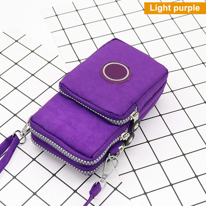 Women Messenger Crossbody Bag Wallet Handbag Phone Pouch Case Zipper Casual Shoulder Bag Purse New