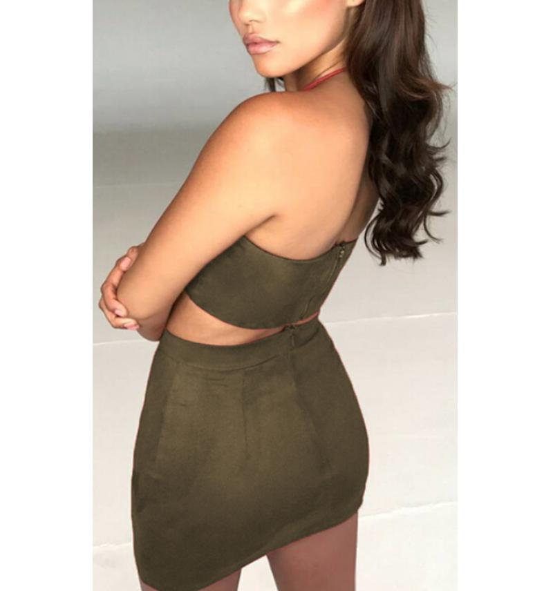 Summer Crop Top Two Piece Set Women Bandage Lace Up Skirt Sexy Cropped Shirt Mini Skirt Suit 2Pcs Set