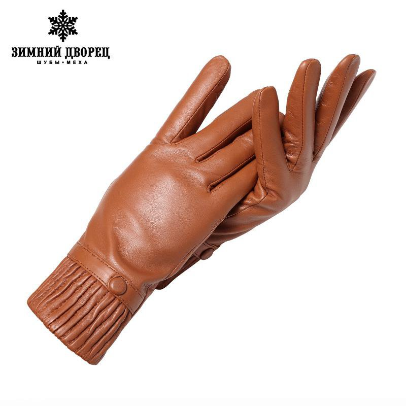 Genuine Leather glove Good quality gloves female Fashion leather gloves Vintage winter gloves women black Weatherization-GLOVES-SheSimplyShops