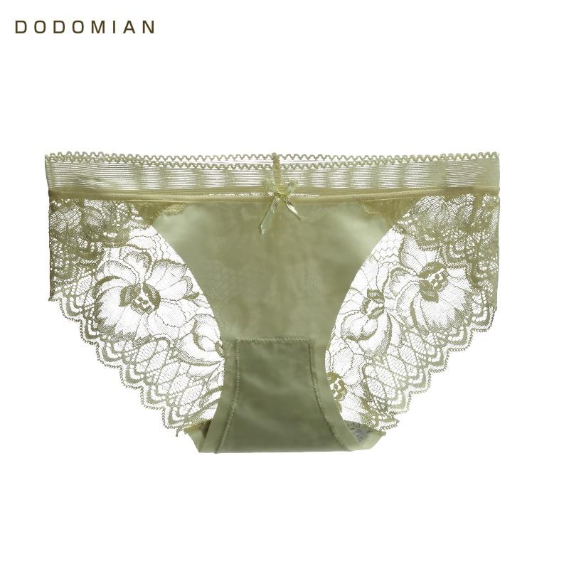 Sexy Seamless Women Underwear Traceless Female Panties Soft Lace Briefs Ladies Underpants DODOMIAN New Hot Sell Women Lingerie