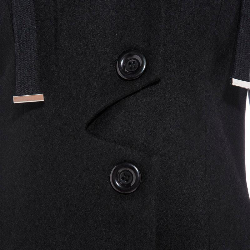 Elegant Asymmetric Winter Overcoat-Coats & Jackets-SheSimplyShops