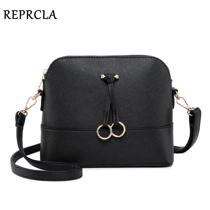 REPRCLA Patchwork Crossbody Bags for Women 2018 Fashion Shoulder Bag Shell Women Messenger Bags Luxury Leather Handbag Designer