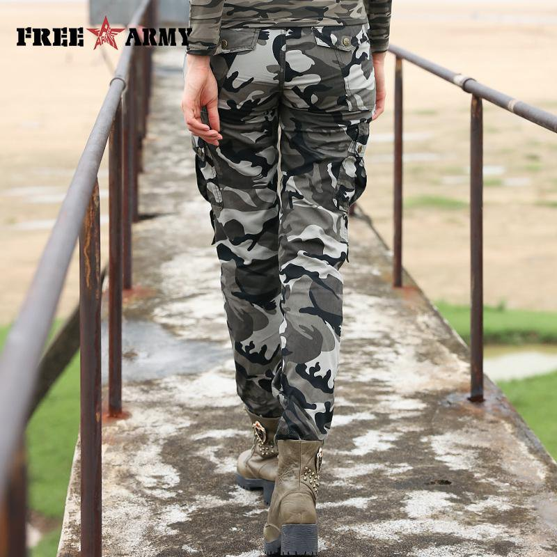 Fashion Skinny Casual Military Women Pants Camouflage Slim Summer Army Autumn Skinny Pencil Pants-PANTS-SheSimplyShops